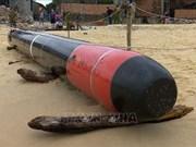 Object found offshore Phu Yen identified as training torpedo