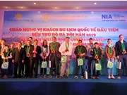 Hanoi, Thua Thien – Hue, HCM City welcomes first air travellers of 201
