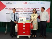 VinaCapital Foundation aids health sector in Kien Giang