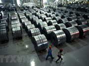 Hoa Phat Group's steel export shoots up over 50 percent