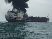 One dead, two missing in Vietnamese oil tanker fire off Hong Kong