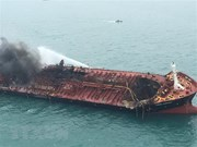 VN oil tanker fire: Search, rescue efforts underway