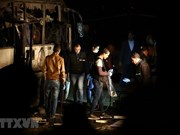 Bomb attack in Egypt: Three injured victims set out for home