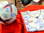 2018 AFF Cup champion's keepsakes auctioned to raise funds