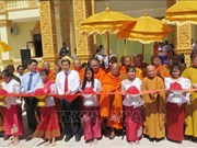 Can Tho: Khmer Theravada Buddhist Academy's first phase completed