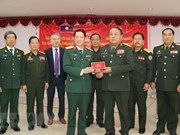Film on history of Lao People's Army handed over