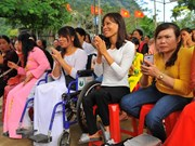 Some 6.2 million Vietnamese are disabled: national survey