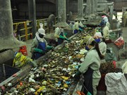 Vietnam, Japan cooperate in solid waste treatment