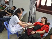 Thousands donate blood on Red Sunday nationwide