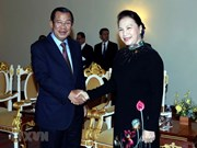 NA Chairwoman meets with Cambodia Prime Minister