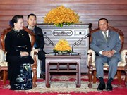 NA Chairwoman meets Cambodian Senate President