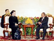 NA leader urges early completion of VN-Cambodia border demarcation