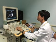 Echocardiography Training Centre opens in HCM City