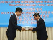 HCMC leader honoured with RoK order of cultural merit