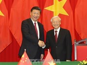 Leaders of VN, China exchange greetings on diplomatic ties anniversary
