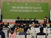 Vietnam Sustainability Forum 2019 takes place in Hanoi