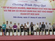Vice President visits AO/dioxin victims in Tien Giang