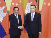 Cambodia, China pledge to further foster cooperation