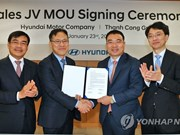 Hyundai to set up joint venture in Vietnam to boost sales