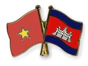 Vietnamese, Cambodian localities enhance friendship