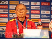 Asian Cup 2019: Park Hang-seo praises Vietnamese players