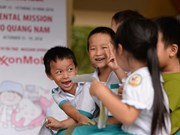 ExxonMobil pledges 80,000 USD to improve child healthcare in Quang Nam
