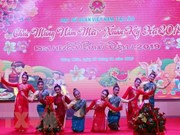 Vietnam Embassy in Laos welcomes Lunar New Year