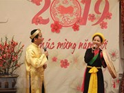 Overseas Vietnamese across continents welcome Year of the Pig
