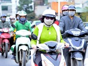 Hanoi chokes as air pollution increases