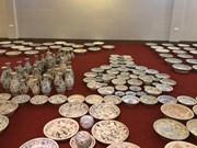 Shipwreck exhibition opens in Quang Ngai