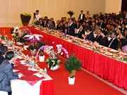 Officials of Cambodian provinces pay pre-Tet visit to Tay Ninh