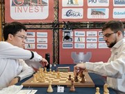 Vietnamese player advances at Gibraltar Chess Festival
