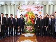 Hanoi leader visits Evangelical Church ahead of Tet