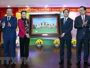 Top legislator visits Vietcombank, customs sector after Tet
