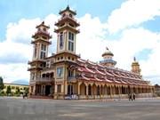 Cao Dai Tay Ninh Church holds annual festival