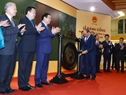 Prime Minister opens New Year's trading session