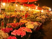 Hanoi flower market among top spots for Lunar New Year celebrations