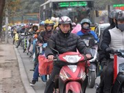 Hanoi city's air quality remains poor
