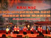 Quan ho festival offers diverse activities