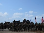 Thailand, RoK, US marines conduct amphibious assault exercise