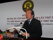 17th Vietnam Poetry Day opens in Hanoi