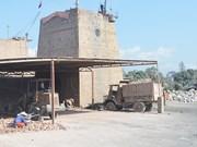Quang Ninh to halt activities of all manual lime kilns