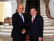 HCM City leader receives former Israeli Deputy PM