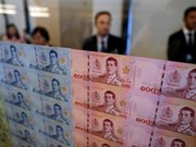 Thai baht becomes fastest-growing currency in Asia