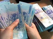 Reference exchange rate down 2 VND on February 20