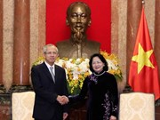 Vice President receives Thai chief judge