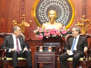 Ho Chi Minh City leader hosts Russian Foreign Minister