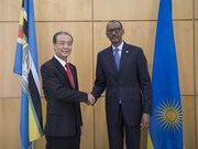 Vietnamese Ambassador presents credentials to Rwandan President