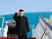 Cambodian press highlights Vietnamese top leader's visit
