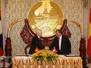 Top leader's visits to Laos, Cambodia - important external activities
